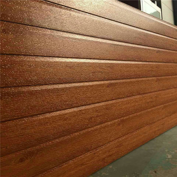 Faux wood insulation wall siding panel