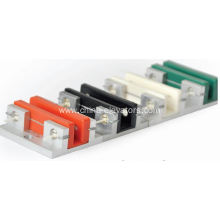 Passenger Elevator Sliding Guide Shoe With Coloured Insert
