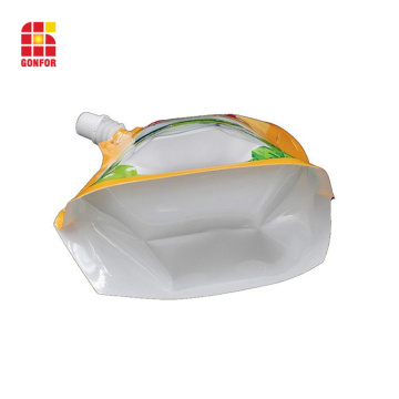 Stand Up Spout Pouch For Dairy Food Packaging