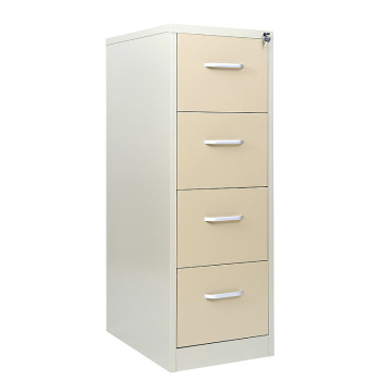 Beige Drawers Metal File Cabinet