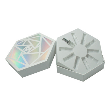 Luxury Customized Rectangular Cosmetic Packaging Box