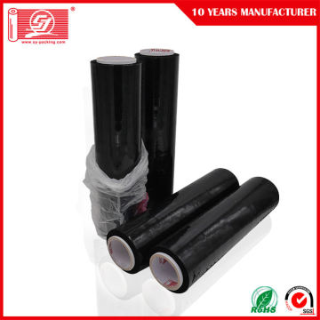 Black Cast LLDPE Stretch Film For Pallet Wrap