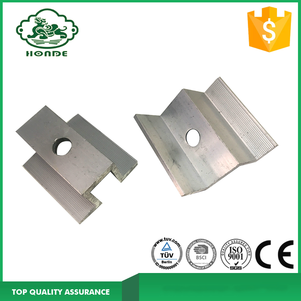 Best Price Aluminum Rail For Solar Panel Brackets