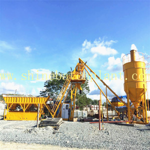 25 No Foundation Concrete Mixer Station