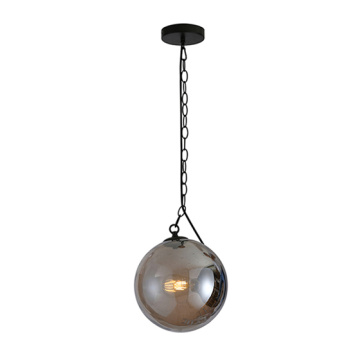 Modern Blown Glass Ball Hanging Pendant Lamp