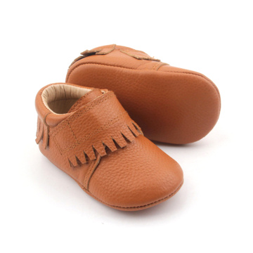 Leather Baby Moccasins Infant Casual shoes