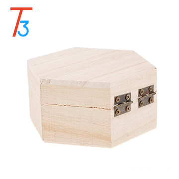 wholesale unfinished wooden puzzle box with divider
