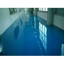 Solvent-free epoxy self-flowing flat paint