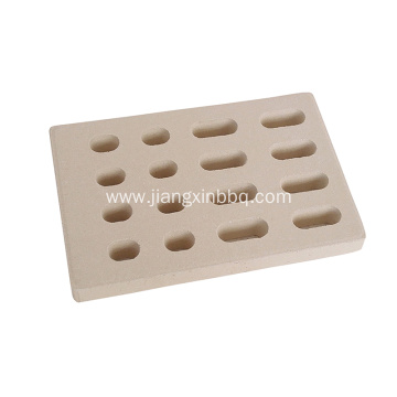 Ceramic Brick flame tamer for BBQ