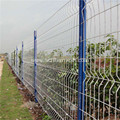 White Powder Coated Welded Wire Mesh Temporary Fencing