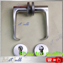 OEM for Solid Brass Handle Stainless Steel Solid Lever Door Locks Handle supply to France Manufacturer