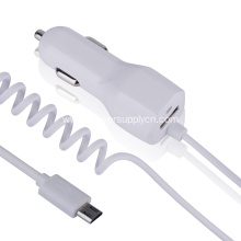 5v 2.1a Car Charger With Micro Cable