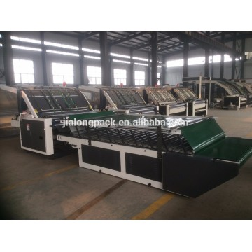 Semi Automatic Corrugated Cardboard Flute Laminator Machine