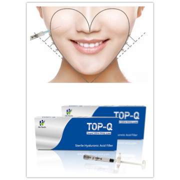 2ml High quality facial filler injectable hyaluronic acid dermal injection filler for cheek