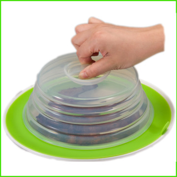 Factory Promotional for Silicone Folding Lid Good Seal Reusable Eco Silicone Lid export to Singapore Factory