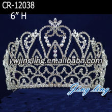 2013 hot latest rhinestone and crystal princess headwear