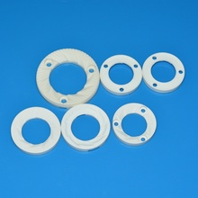 Ceramic flat milling disc for coffee machine