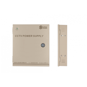 60W Integrated Power distribution for CCTV cameras