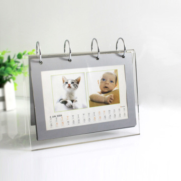 Wholesale Acrylic Standing Desk Calendar For Sale