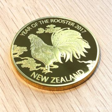 Metal Gold Proof Coin wa Souvenir