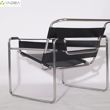 Marcel Breuer saddle leather classic wassily chair