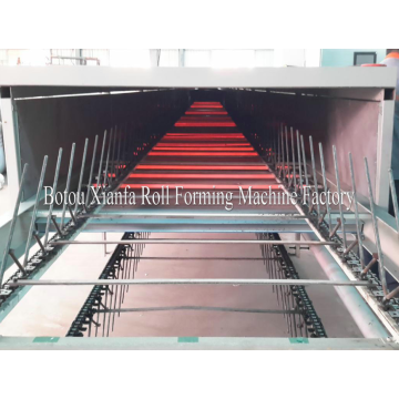 Color Steel Roofing Stone Coated Roof Tile Machine