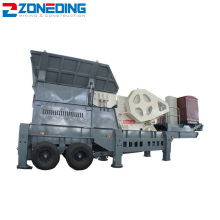 Mobile Rock Crusher Machine for Quarry
