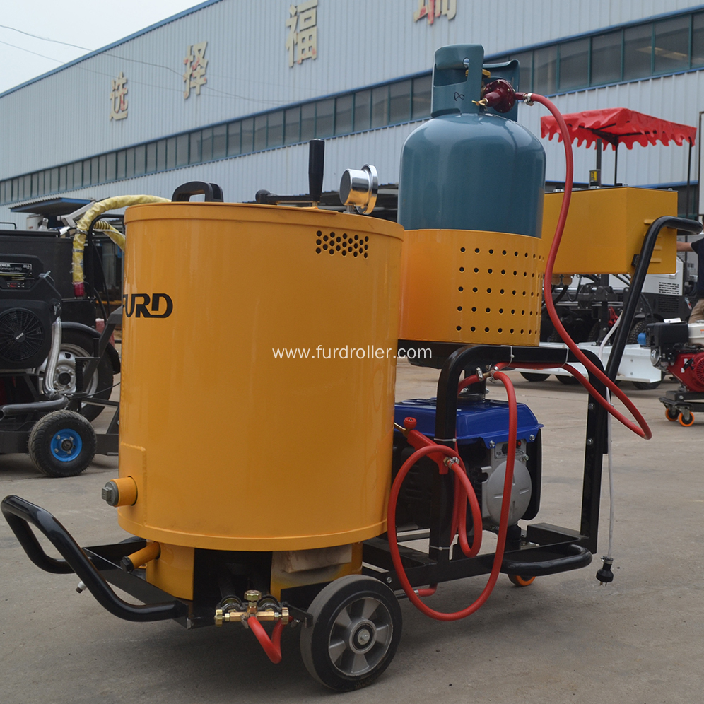 Hand Push Road Sealing Concrete Road Crack Machine