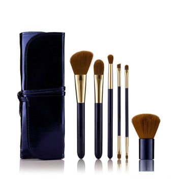 6pcs Professional Vegan Travel Cosmetic Makeup Brushes set