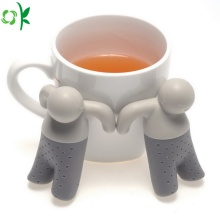 BPA Free Man Silicone Tea Infuser for Traveling