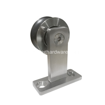 Top Mount Stainless Steel Decorative Sliding Door Hardware