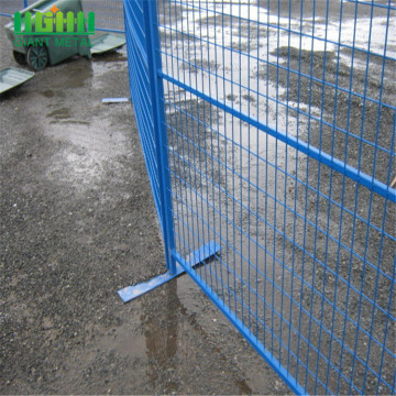 Easily Assembled removable tempory fence for event