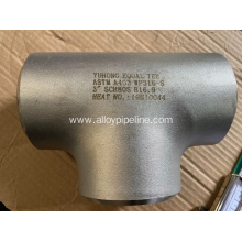 ASTM A403 WP316L EQUAL TEE ANSI B16.9