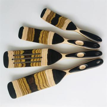 wooden spatula for cooking set