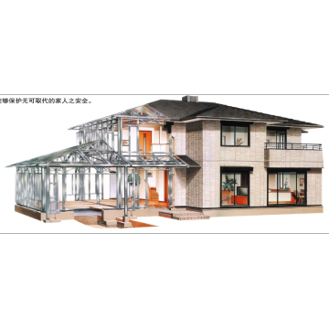 prefabricated Steel frame building fabrication