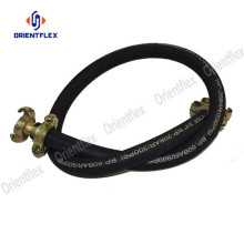 Orange oil resistant air compressor hose