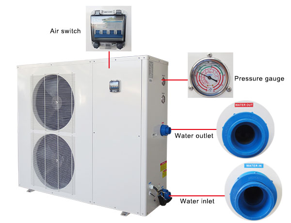 Outdoor Pool Heat Pump Heater