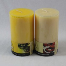Supply high quality scented pillar candle for decoration