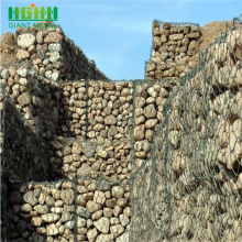 PVC Coated Gabin And Glass Rock For Gabion