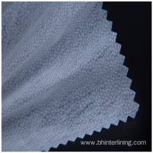 Double dot nonwoven fusible interlining/lining for clothing