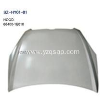 OEM manufacturer custom for China HYUNDAI Hood,Carbon Fiber Hood HYUNDAI,Used HYUNDAI Hood Supplier Steel Body Autoparts HYUNDAI 2006 ACCENT HOOD supply to French Guiana Exporter