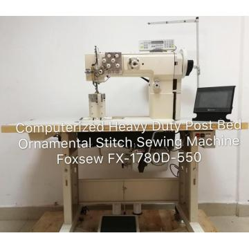 Post Bed Ornamental Stitch Sewing Machine