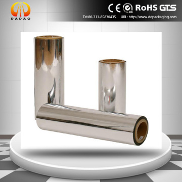 High Vacuum Metallized PET Film (Chemical Treated)