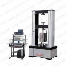 Tensile testing machine for steel wire