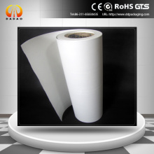 matte white pet film 125 micron