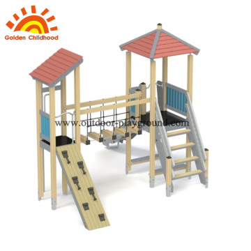 HPL modern outdoor playground play structure