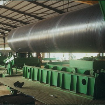 24 inch large diameter SAW round steel pipe
