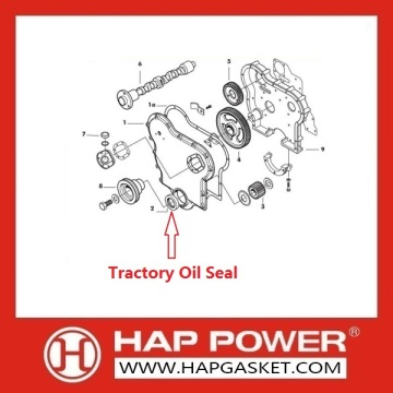 Tractor Oil Seal 2415343