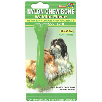 "Percell 4.5"" Soft Chew Bone Mint Scent"