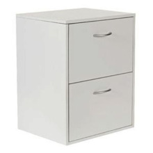 Steel storage 2 drawer file cabinet